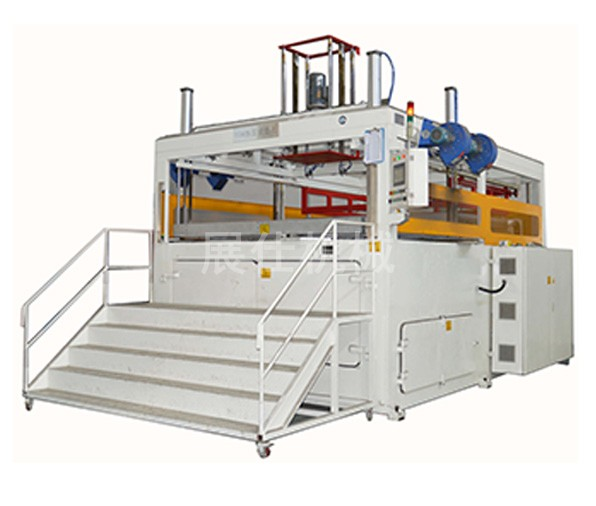 ZS-1815/5 chassis shell plastic forming machine