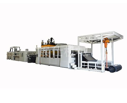 全自动电脑控制ZS2A-5048L 塑料热压成型机