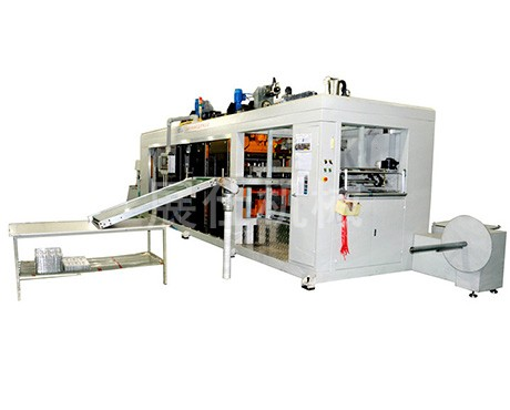 Three-position positive and negative pressure blister machine