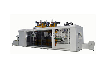 ZS-6070 automatic positive and negative pressure blister machine