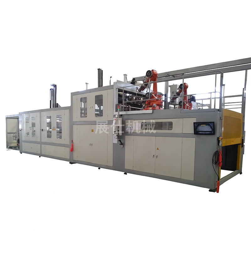 ZS-1816/300 series automatic computer controlled thick sheet plastic forming machine