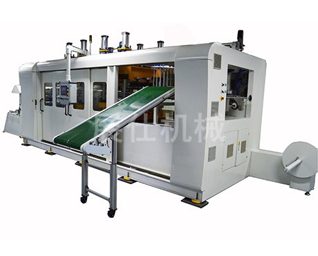 ZS-500/700 plastic positive and negative pressure thermoforming machine