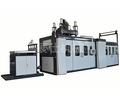 ZS-BQ80120 INS automotive interior field positive and negative pressure forming machine