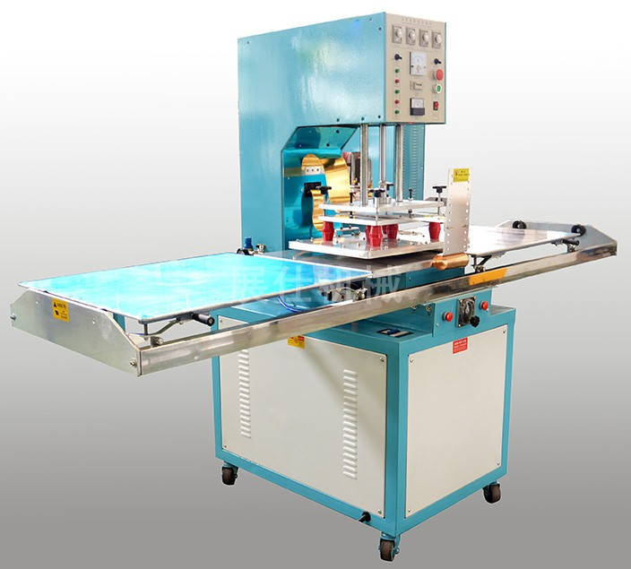 Skate type high frequency machine
