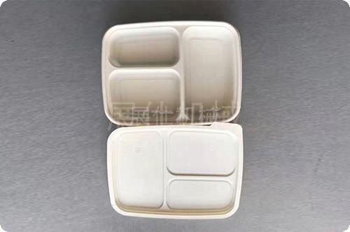 玉米淀粉可降解餐盒 (2)